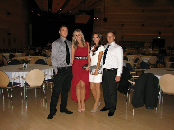 A Style and Blog csapata, balról jobbra: Berti, Mesi, Panni, Árpi