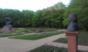 Chopin és Liszt a végtelenben együtt