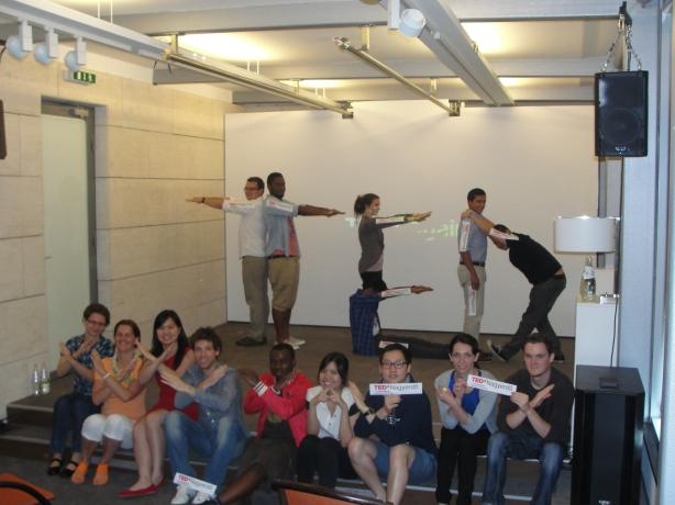 A TED Global 2013 debreceni vetítésén a nézők egy része