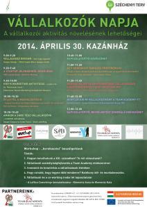 Vállalkozók Napja program 2014