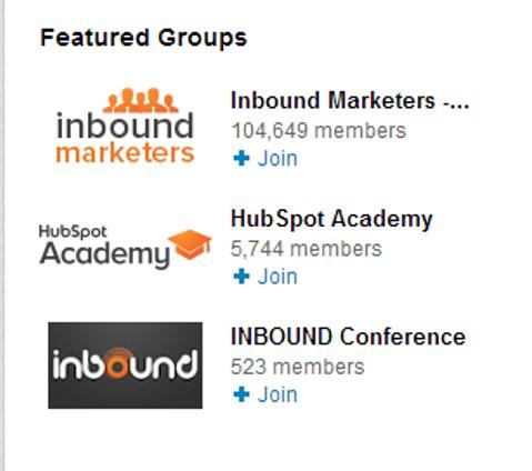 A HubSport online marketing cég összes csoportja egy csomagba gyűjtve.